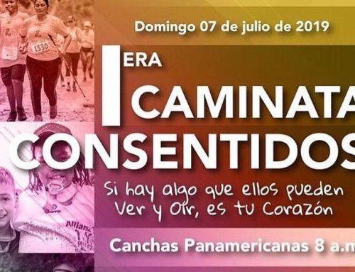 ¡Participa de la 1° Caminata Consentidos en pro de la Inclusión!
