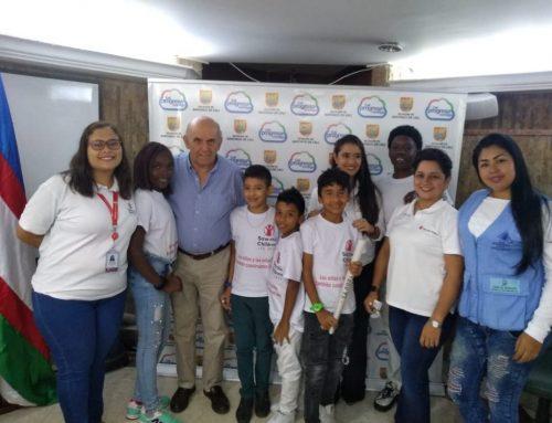 Niños y niñas de Cali exponen sus ideas en el Consejo Municipal de Paz