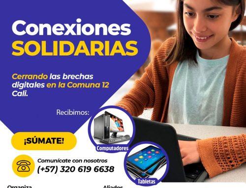 Únete a 'Conexiones Solidarias' y ayuda a cerrar la brecha digital en la comuna 12 de Cali