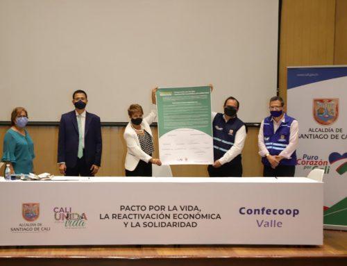 Sector cooperativo y Alcaldía de Cali firman Pacto por la Vida, la Reactivación económica y la Solidaridad